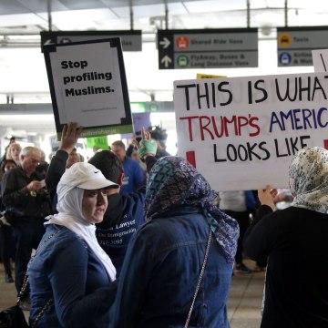 Image: Federal judge halts President Trump's
