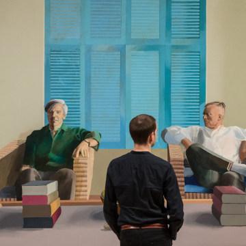 Image: David Hockney Retrospective, Tate Britain, London, Britain - 06 Feb 2017