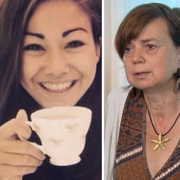 Image: Mia Ayliffe-Chung, left, and her mother Rosie.
