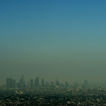 Image: US-LIFESTYLE-TOURISM-LOS ANGELES-POLLUTION