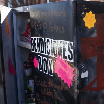 IMAGE: Blessing box in Texas