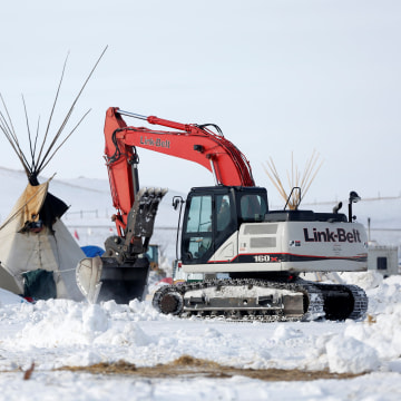 Image: DAPL opposition camp