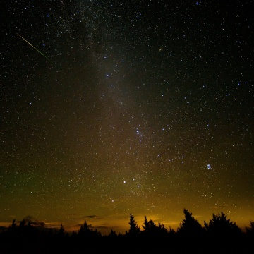 Image: Perseid Meteor Shower