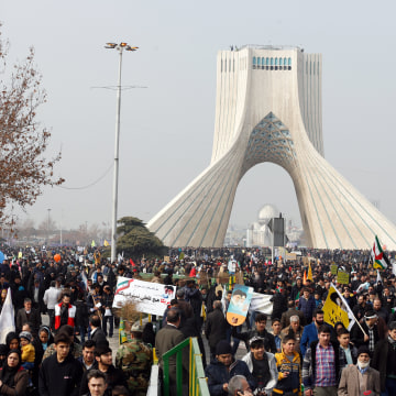 Image: 38th anniversary of the Islamic revolution in Iran