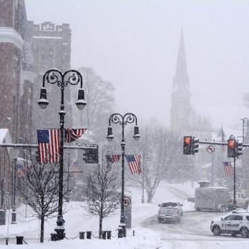 Image: Monument Square in North Adams, Massachusetts