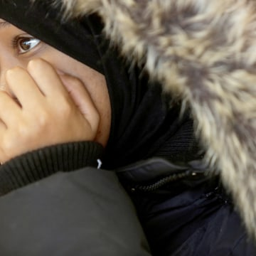 Image: Lyann Mohammed, 19, a refugee from Somalia, is interviewed at the Welcome Place in Winnipeg, Manitoba, Canada, Feb. 1, 2017.