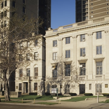 Image: Exterior of the International Museum of Surgical Science
