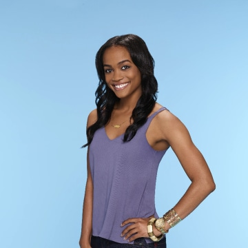 "Image: This image provided by ABC shows Rachel Lindsay, who ABC named as its first black woman to be the ""Bachelorette"" for the 13th season of ""The Bachelor"" spinoff"