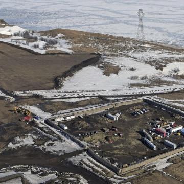 Image: Dakota Access Pipeline site