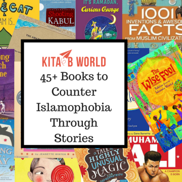 """The logo of KitaabWorld's """"Counter Islamophobia Through Stories"""" Campaign"""