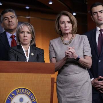 Image: Nancy Pelosi, Tony Cardenas, Michelle Lujan Grisham, Ruben Kihuen