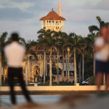 Image: The Mar-a-Lago Resort in West Palm Beach