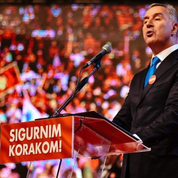Image: Prime Minister Milo Djukanovic