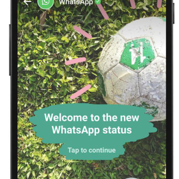 Image: A screenshot of the new WhatsApp feature