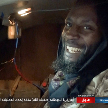 Image: ISIS released this image of Abu Zakariya Al-Britani