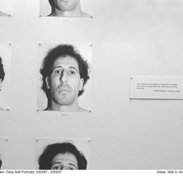 Karl Baden: Daily Self-Portraits