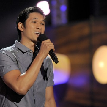 Image: Harry Shum Jr. speaks on stage at the Do Something Awards at the Avalon on July 31, 2013, in Los Angeles.