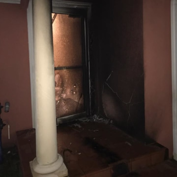 New Tampa mosque fire