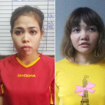Image: Siti Aisyah and Doan Thi Huong