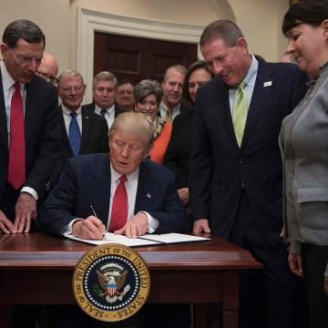 Image: US-POLITICS-TRUMP-WOTUS