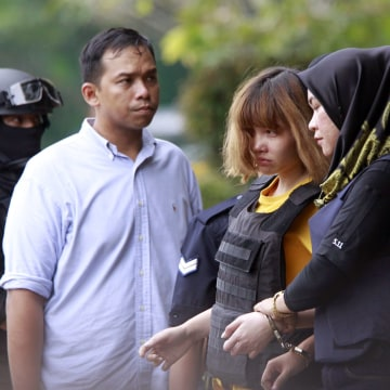 Image: Suspects in Kim Jong Nam's death