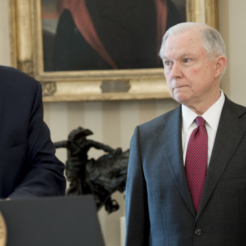 Image: Donald Trump and Jeff Sessions