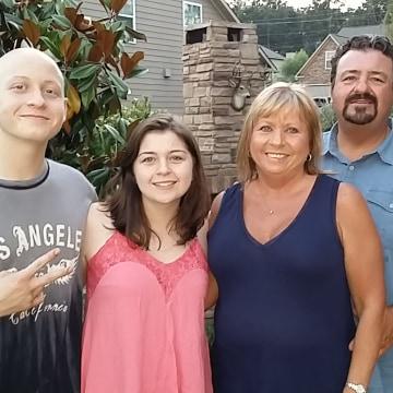 Image: Nicholas Dyksma and family