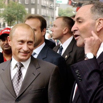 Image result for schumer and putin