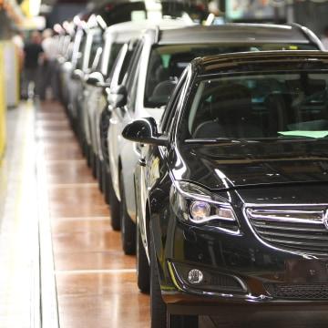 Image: Opel factory in Ruesselsheim, Germany