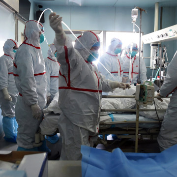 Image: H7N9 bird flu patient