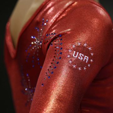 Image: A team USA gymnast
