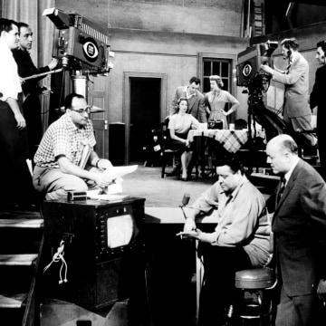 Image: The Honeymooners is filmed in 1955-56