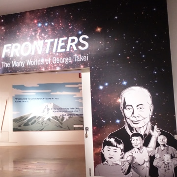 """New Frontiers: The Many Worlds of George Takei"" at the Japanese American National Museum - Los Angeles, CA"