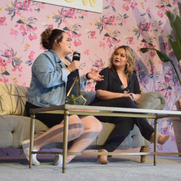 Jennifer and Chiquis Rivera at #WeGrowSummit 2017