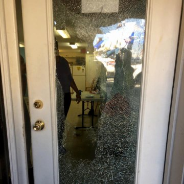 Image: Casa Ruby LGBT Community Center, located in Washington, D.C., was vandalized and a staff assaulted two days after Mayor Muriel Bowser reported a 100 percent increase in hate crimes against the transgender community.