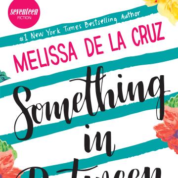"""The cover for Melissa de la Cruz's """"Something in Between."""""""