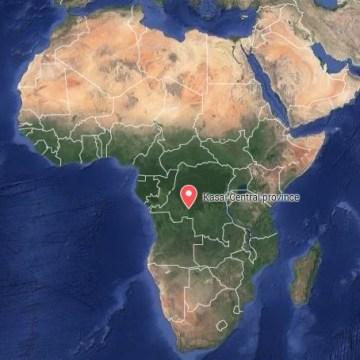 Image: Kasai Central in the Democratic Republic of Congo
