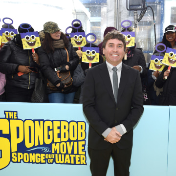 Image: The SpongeBob Movie World Premiere In New York