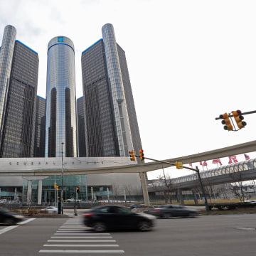 Image: General Motors headquarters in the Renaissance Center
