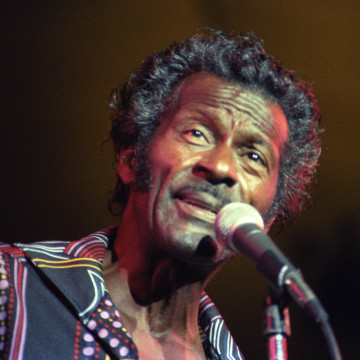 Image: Chuck Berry in 1984