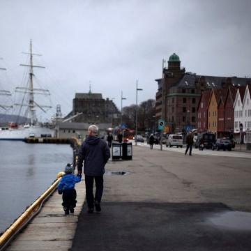 Image: Marina in Bergen, Norway