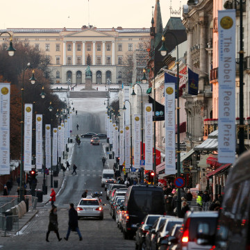 Image: The Royal Palace in Oslo, Norway