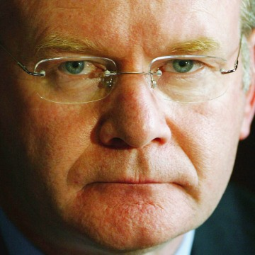 Image: Martin McGuinness in 2004