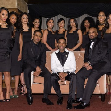 "The cast of ""Bronzeville"""