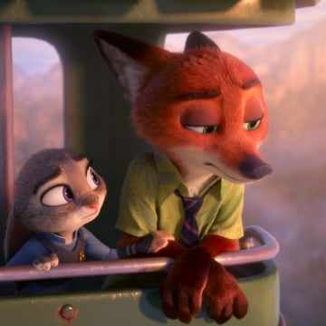 Image: A scene from Disney's Zootopia