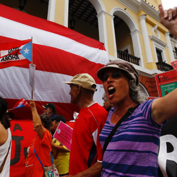 Image: INTERNATIONAL WORKERS DAY CELEBRATIONS IN PUERTO RICO