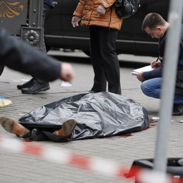 Image: Former Russian MP DENIS VORONENKOV was shot dead in Kiev.