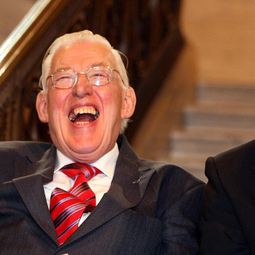 Image: Northern Ireland's First Minister Ian Paisley and Deputy First Minister Martin McGuinness