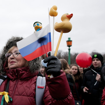 Image: Anti-corruption protest in Russia