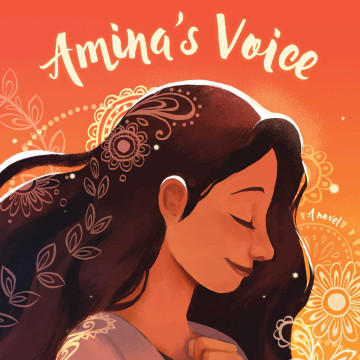 The cover of 'Amina's Voice'